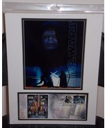 2007 Official Post Office Star Wars Matted Emperor Photo With Stormtroop... - $29.99