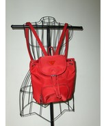 Guess Red Backpack Purse Handbag Tote Bag Gym T... - $22.00