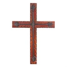 Wood And Iron Wall Cross - $23.61