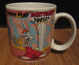 "Disney's Who Framed Roger Rabbit? ""Wanna Play Patty Cake, Toots?"" Coffe Mug/Cup - $10.99"