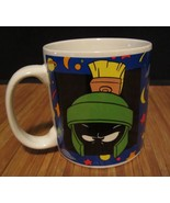 Warner Brothers Looney Tunes Marvin the Martian Blue Ceramic Coffee Mug Cup - $8.99