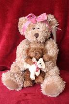 """NWT Russ Bearie """"Marmie"""" Bear holding Bears - $29.99"""