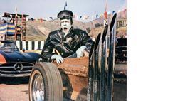 Munsters Car Fred Gwynne Comedy Vintage 8X10 Color TV Memorabilia Photo - $5.99