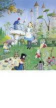 Alice In Wonderland Jean Henry Collectible Vintage 6X8 Fantasy Foil Photo - $3.99