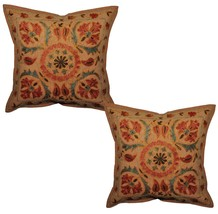 2pcs Vintage Indian Handmade Cotton Pillow Cove... - $24.75