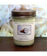 Coconut PURE SOY Jelly Jar Candle - $8.00