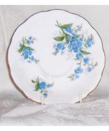 Royal Albert Vintage  Forget-Me-Not  Bone China  Saucer England - $8.45