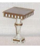 Pedestal Table Ideal Petite Princess Dollhouse Furniture - $23.25