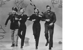 White Christmas Stage Bing Crosby Vintage 8X10 BW Movie Memorabilia  Photo - $4.99