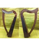 CP BRAND NEW 19 STRINGS HARP WITH LEVERS ROSEWOOD HAND CARVED FREE SHIP USA - $376.92