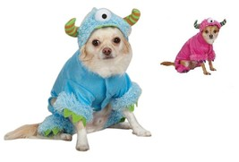 Monster Costume Dog Puppy Halloween Pet Blue Pink Casual Canine Small X ... - $14.54