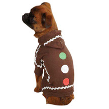 Gingerbread Man Costume Dog Puppy Pet Casual Canine Christmas Photo Op  ... - $13.57