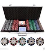 Holdem Series 500 Piece Z-Pro Clay Poker Chips - $91.12
