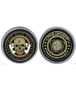 Poker Chip Coin Card Guard Protector With Plastic Case Aces and Eights 2... - $97.57