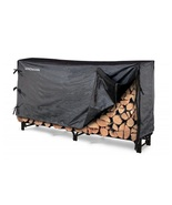 Firewood Rack with Fitted Cover 8 Foot Heavy Du... - $89.49