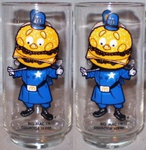 McDonald's Glass Early Collector Series Big Mac - $5.00