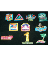 (10) Mixed GIRL SCOUTS OFFICIAL BADGES Patches for Sash or Vest Journey ... - $19.78