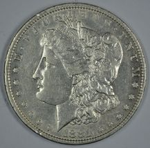 1881 O Morgan circulated silver dollar XF details - $40.00