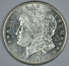 1881 S Morgan silver dollar BU details Proof Like PL - $120.00