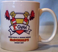 McDonald's Mug Coffee Cup rGym August 2007 - $8.00