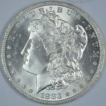 1883 O Morgan silver dollar BU details - $64.00