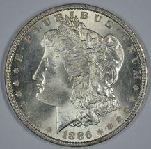1886 P Morgan silver dollar BU details - $57.50