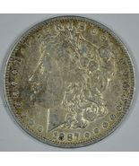 1887 O Morgan circulated silver dollar VF details - $46.00