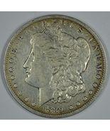 1889 O Morgan circulated silver dollar F details - $40.00