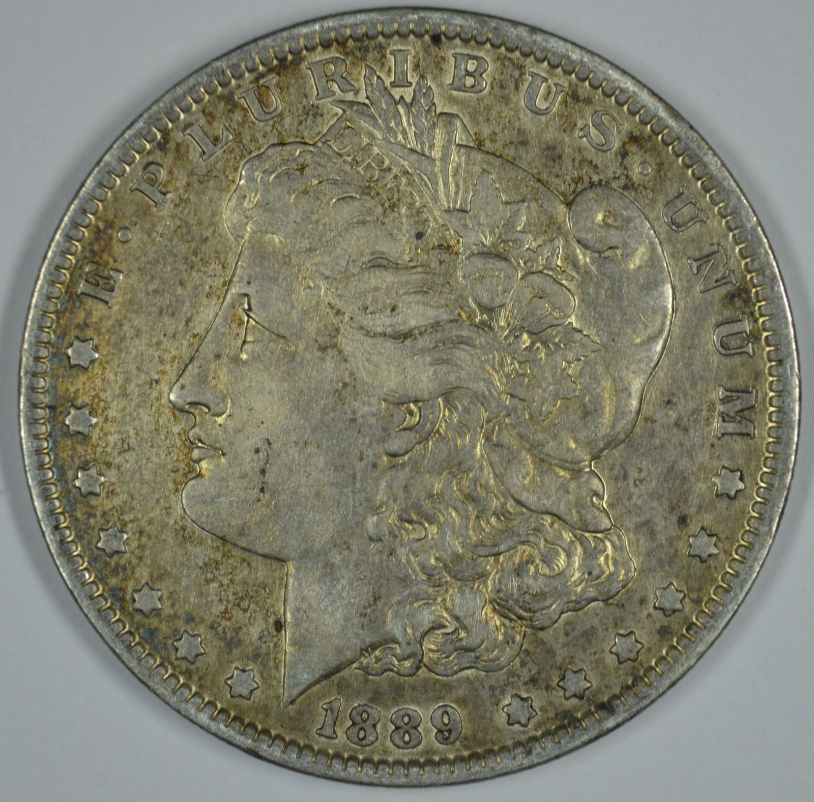 Primary image for 1889 O Morgan circulated silver dollar VG details