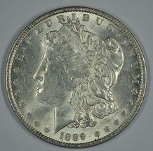 1889 P Morgan circulated silver dollar XF details - $44.00