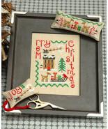 Christmas Trio cross stitch chart Tiny Modernist Inc - $14.40