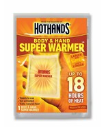HotHands Body & Hand Super Warmer New Super Size Package (20 count) - $24.99