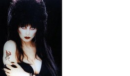 Elvira Cassandra Peterson Tattoo 22C Vintage 8X10 Color Memorabilia Photo - $6.99