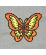 Beautiful Butterfly Embroidered Patch - $1.99