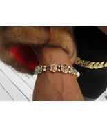 14k gold 11 slides bracelet with Amethyst sapphire, topaz, ruby peridot ... - $3,399.99