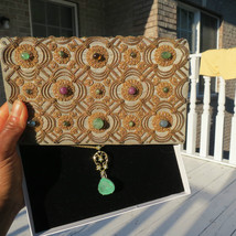 DESIGNER RARE GENUINE VTG VAN CLEEF and ARPELS JEWELED BAG CLUTCH - £47,069.03 GBP