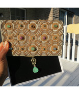 DESIGNER RARE GENUINE VTG VAN CLEEF and ARPELS JEWELED BAG CLUTCH - $59,949.98