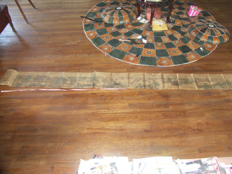 Antique Song Dynasty's Ching Ming Festival 12.9 Feet  Scroll