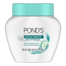 Ponds Cold Cream Make-Up Remover 6.5 oz,184g - NEW - $13.99