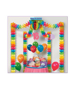 Beistle 16th Birthday Party Canopy- Pack of 6 - $82.72