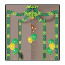 Beistle Jungle Monkey Party Canopy- Pack of 6 - $81.99