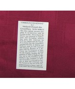 Information Card  Number 4  for  Chouart des Groseilliers   Famous Canad... - $8.78