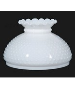 White Milk Glass Hobnail Student Lamp 10 in Glo... - $52.95