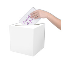 """Beistle All-Purpose Card Box 9"""" x 9""""- Pack of 6 - $36.31"""