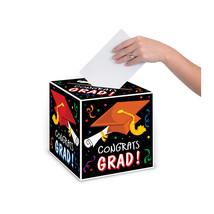 "Beistle Congrats Grad Card Box 9"" x 9""- Pack of 6 - $34.99"