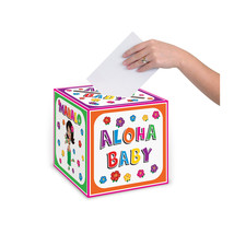 "Beistle Hula Baby Card Box 9"" x 9""- Pack of 6 - $34.99"