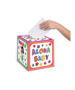 """Beistle Hula Baby Card Box 9"""" x 9""""- Pack of 6 - $38.36"""