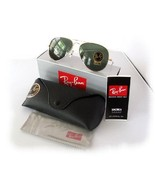 Rayban aviator sunglasses most popular Dark Green Lenses polarized - $69.95