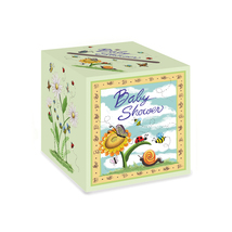 "Beistle Baby Shower Card Box 9"" x 9""- Pack of 6 - $34.99"