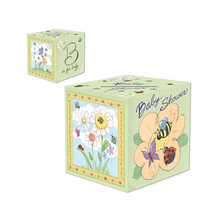"""Beistle B Is For Baby Card Box 6"""" x 6""""- Pack of 6 - $27.18"""